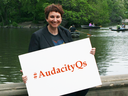 how does one partner with you to become one of your audacity speakers?