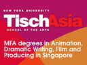 Besides MFA in Filmmaking, does Tisch Asia also has MBA/MFA Dual Degree in Producing in Singapore?
